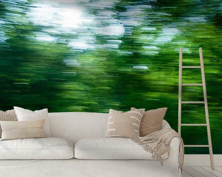 Impression: Het schilderachtige, Groningse landschap. sur Emma Westers