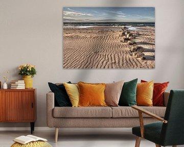 Strand in Prerow von Steffen Gierok