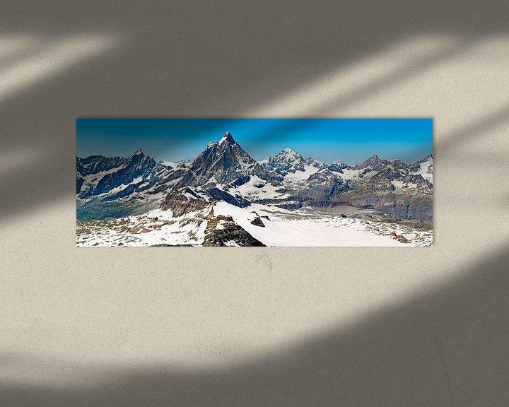 Sfeerimpressie: Panorama Matterhorn van Anton de Zeeuw