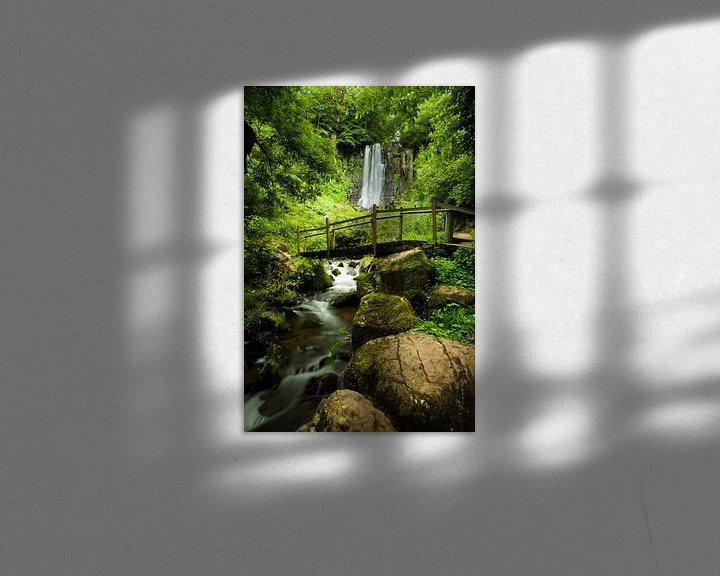 Sfeerimpressie: Anglard Waterfall - Puy de Dôme - France van Louis-Thibaud Chambon