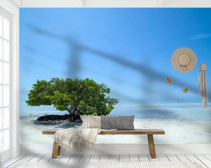 Beispiel fototapete: FLORIDA KEYS Einsamer Baum von Melanie Viola