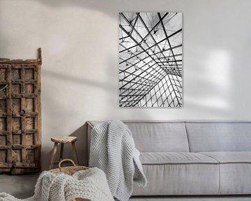 Black and White Abstract Architecture van Studio voor Beeld