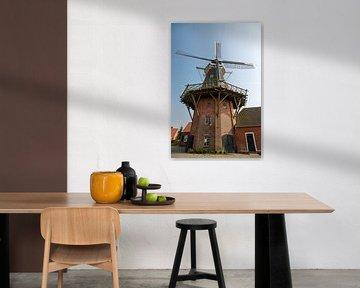 Mühle in Ostfriesland van Rolf Pötsch