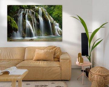 Waterval 'Cascade des Tufs' van Roel Van Cauwenberghe