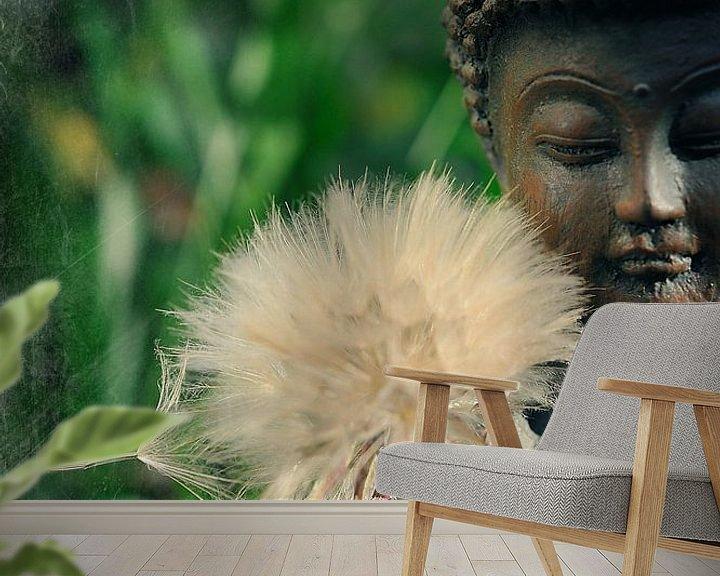 Sfeerimpressie behang: Méditation van Martine Affre Eisenlohr