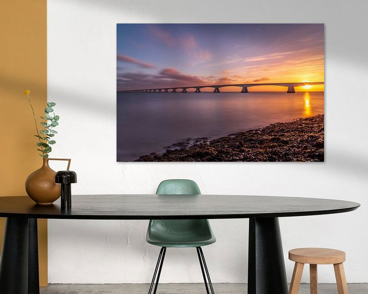 Sfeerimpressie: Zeelandbrug in de morgen - 3 van Tux Photography