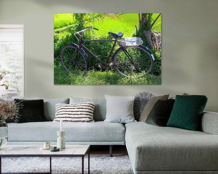 Beispiel: Verlassenes Fahrrad Bali von Inge Hogenbijl