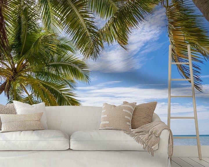 Sfeerimpressie behang: FLORIDA KEYS zeezicht van Melanie Viola
