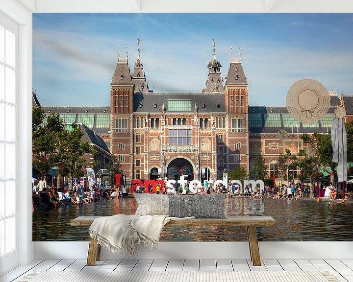 Sfeerimpressie behang: Tas Mahol van Jan van der Knaap