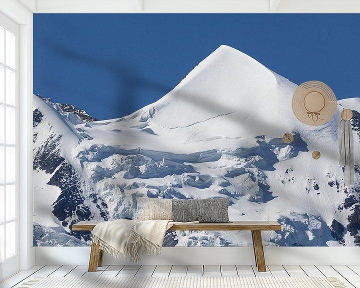 Sfeerimpressie behang: Silberhorn van Bart van Dinten