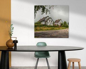 Vakwerkhuisjes Zuid- Limburg