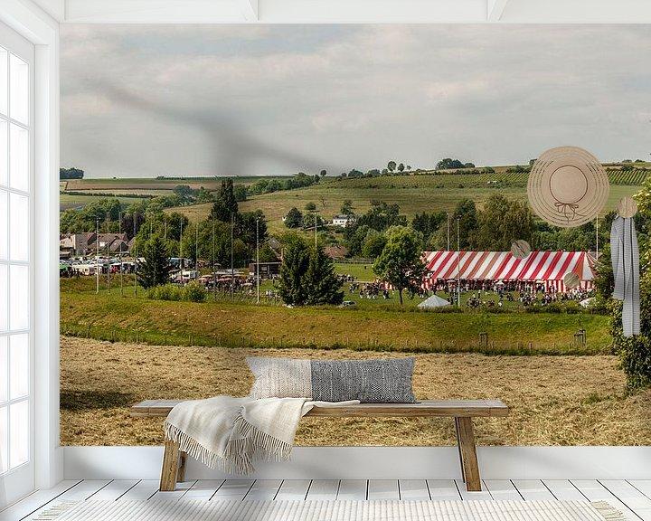 Sfeerimpressie behang: Bondsfeest Schutterij Eys van John Kreukniet