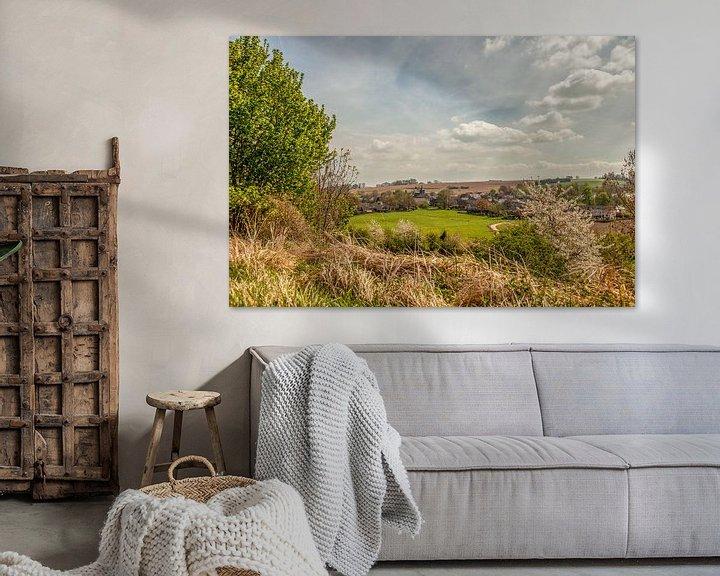 Sfeerimpressie: Dorpje Wahlwiller in Zuid-Limburg van John Kreukniet