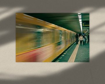 Berlin Subway von Lars Bemelmans