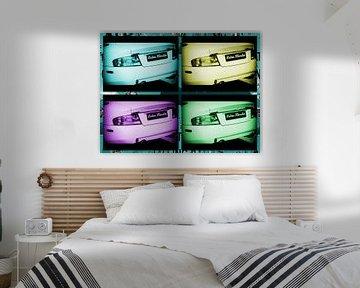 Aston Martin Collage von Nicky`s Prints