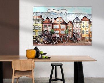 Straßenkunst Leeuwarden
