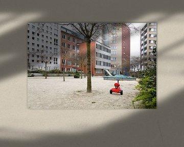 Lonely bicycle von Frank Diepeveen