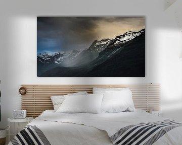Niederschlag Hardangerfjord - Norwegen von Ricardo Bouman