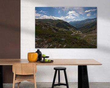 Uitzicht Gotthardpas von Inge Wiedijk
