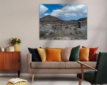 Lava landschap van Dirk Aerts
