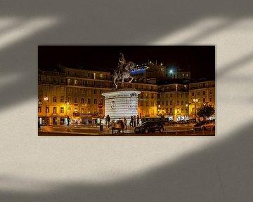 Praça da Figueira, Lissabon van Stephan Neven