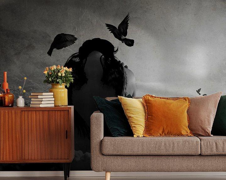 Sfeerimpressie behang: Dreams van Bibi Veth