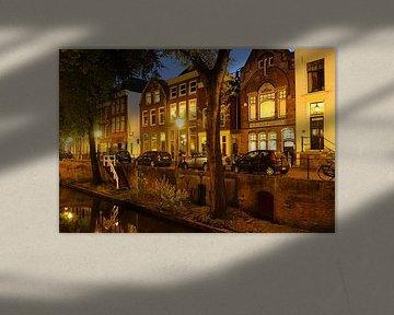 Nieuwegracht in Utrecht zwischen Quintijnsbrug und Magdalenabrug