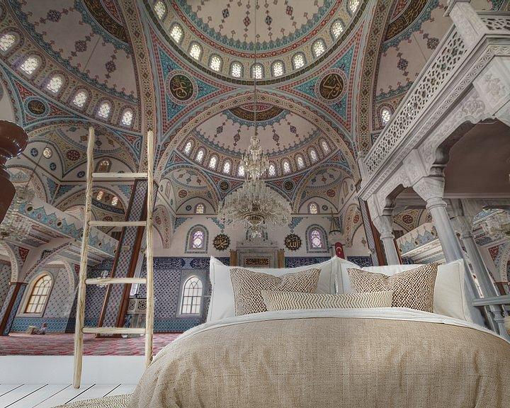 Sfeerimpressie behang: Moskee van Jeroen Hagedoorn