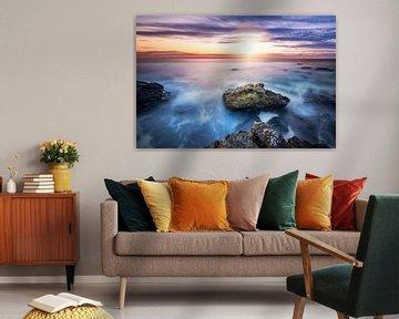 Sunset at the rocks von Martijn Kort