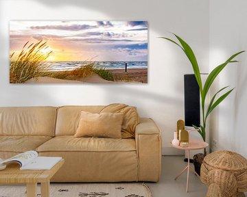 August Sunset van Alex Hiemstra
