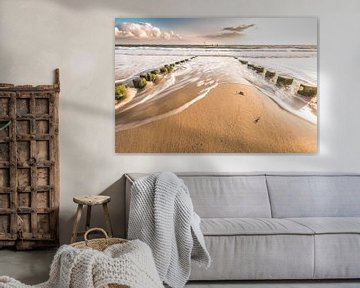 Vlissingen strand von Andy Troy