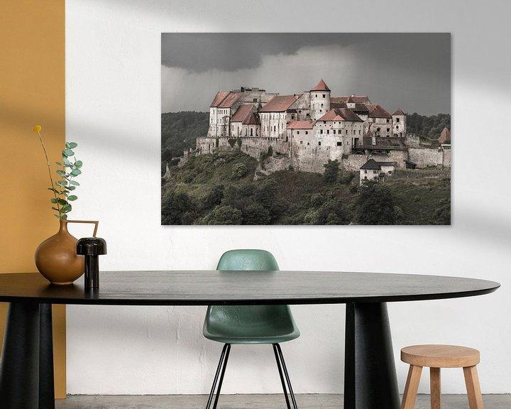 Sfeerimpressie: Burghausener Burg van Christine Nöhmeier