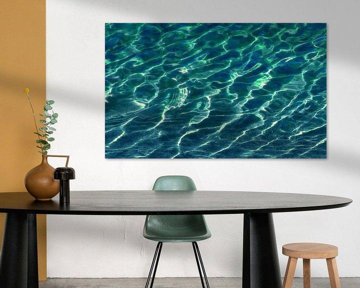 Impression: Clair comme du cristal (L'eau dans l'aquamarine) sur Caroline Lichthart