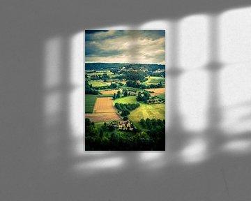 Landschap Dordogne van Rob van der Pijll