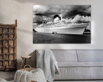Passagierschiff SS Rotterdam sur Thomas van der Willik