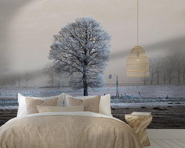 Beispiel fototapete: koude eenzaamheid von Wim Dubbelman
