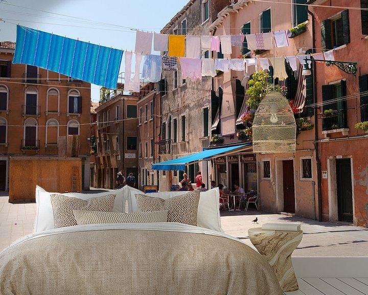 Sfeerimpressie behang: Venetië  van Brian Morgan