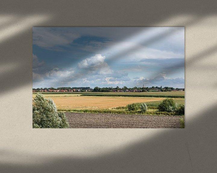 Sfeerimpressie: Felder in Ostfriesland van Rolf Pötsch