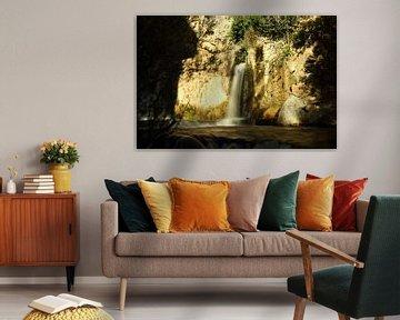Waterfall Castril van Cornelis (Cees) Cornelissen