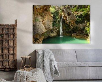 The Green Lagoon van Cornelis (Cees) Cornelissen