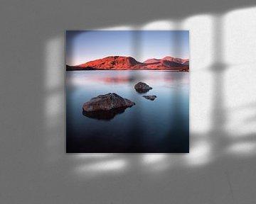 Sonnenaufgang am Rannoch Moor von Johan Zwarthoed
