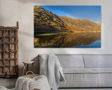 Reflexion in See von Johan Zwarthoed