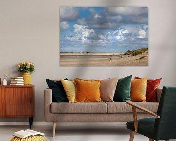 Strand op Terschelling van Evert Jan Kip