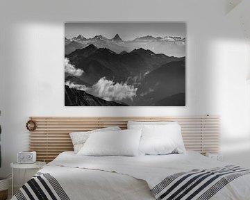 Walliser Alpen sur Menno Boermans