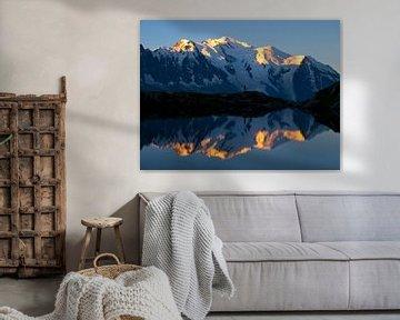 Mont Blanc Sonnenaufgang sur Menno Boermans