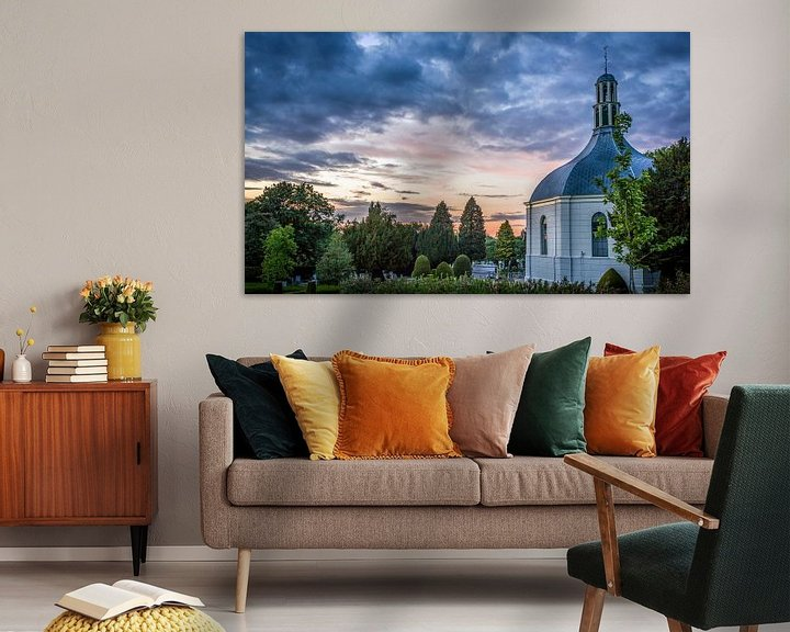 Sfeerimpressie: Koepelkerkje van Jaap Tempelman