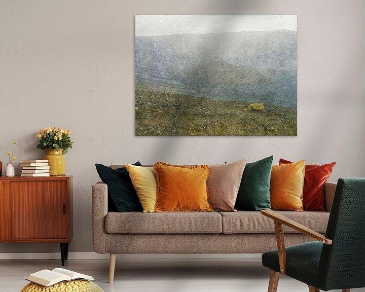 Sfeerimpressie: De maankrater van Myvatn, IJsland van Frans Blok