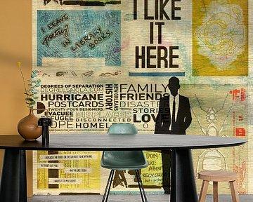 I LIKE IT HERE ( Gezien op tv bij VT wonen, weer verliefd op je huis.) van db Waterman
