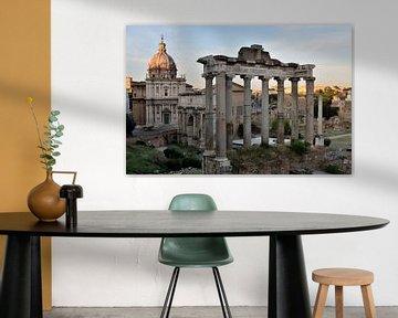 Forum Romanum, Rome, Italië van Pierre Timmermans