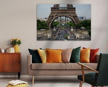 De voeten van de Eiffeltoren sur Sean Vos